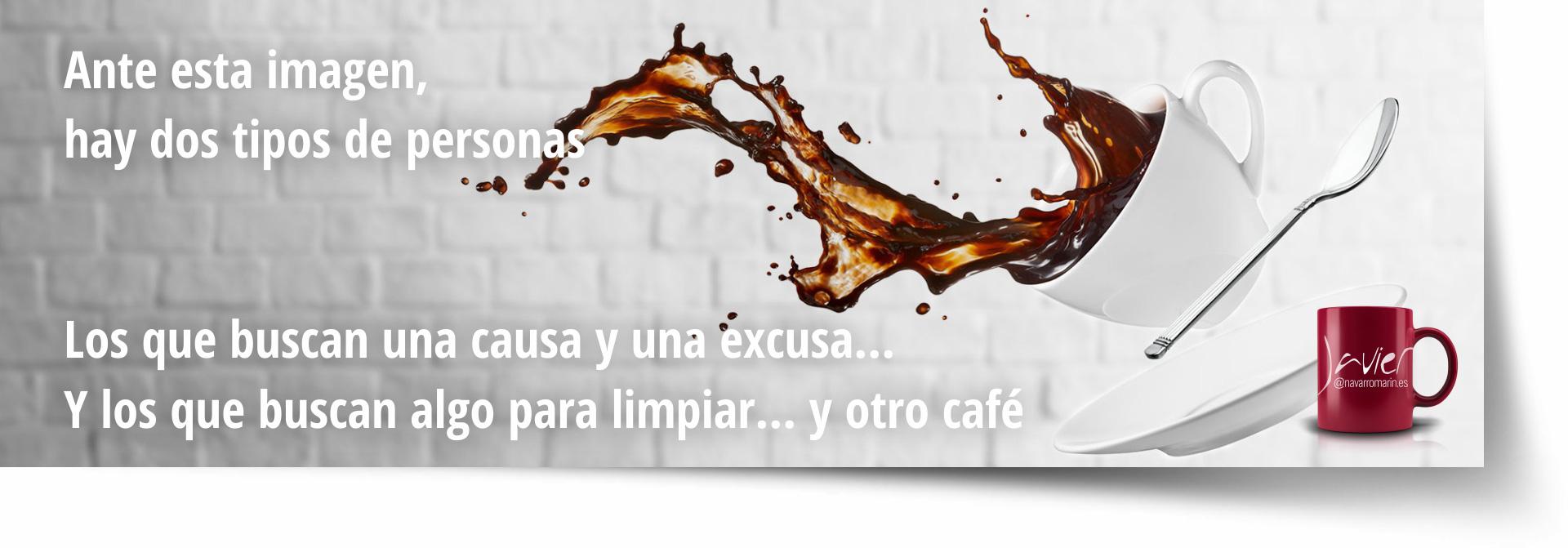 haz algo y pide otro cafe